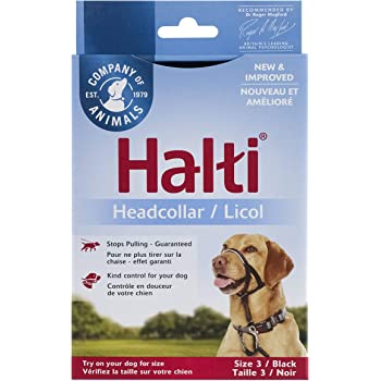 Halti Head Collar, Head Halter Collar for Dogs, Head Collar to Stop Pulling for Small Dogs
