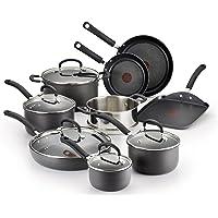 T-fal E918SE 14-Piece Hard Anodized Nonstick Cookware Set