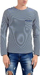 Moncler Men's Striped Crewneck Light Sweater Size US L IT 52