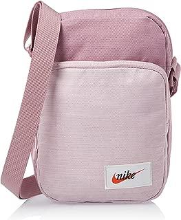 Nike Unisex-Adult Crossbody Bag, Plum Dust/Orange - NKBA5809