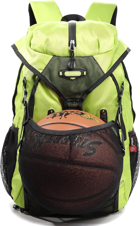 Soccer Ball Bag Basketball Backpacks Volleyball Softball Backpack Bag Light Green