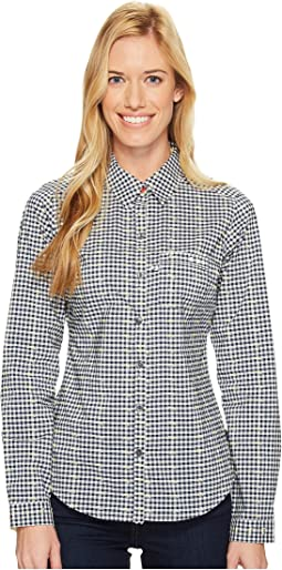 Collegiate Navy Dot Gingham/Sunlit