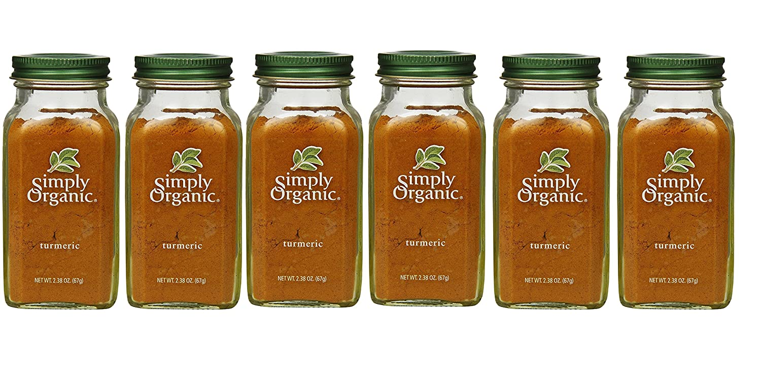 Simply Organic Turmeric Root Certified Discount mail order 2.38-Ounc Fashionable Ground