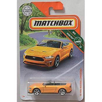 Matchbox Mustang Series 18 Ford Mustang Convertible