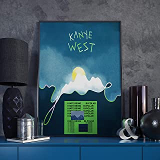 Kanye West Poster - 'Ye' (A1 Size)