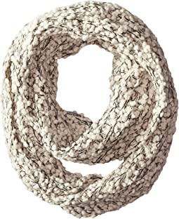 San Diego Hat Company BSS1509 Plus Texture Infinity Scarf with Gold Sequins