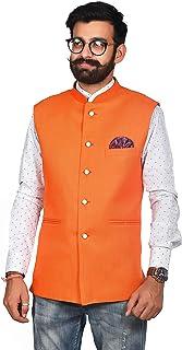 F.F FASHION men's khadi nahru jacket size availabale 36-54