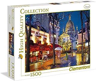 Clementoni - 31999.2 - Puzzle - Paris - Montmartre - 1500 Pièces
