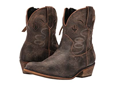 Dingo Adobe Rose (Taupe) Cowboy Boots