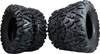 FOUR 26x9-12 26x11-12 KT MASSFX big TIRE SET FOUR ATV TIRES SIX PLY 26