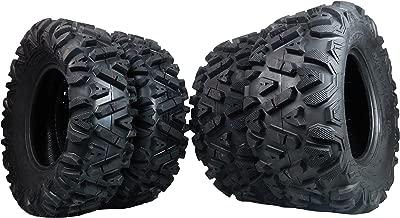 FOUR 26x9-12 26x11-12 KT MASSFX big TIRE SET FOUR ATV TIRES SIX PLY 26