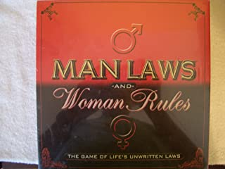 Man Laws & Woman Rules Board Game