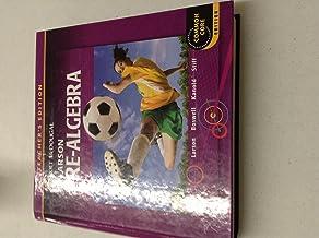Holt McDougal Larson Pre-Algebra: Teacher's Edition 2012