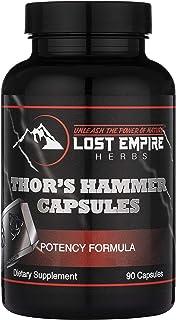 Thor's Hammer Supplement for Men - Tongkat Ali, Shilajit, Epimedium, Cistanche, Mucuna