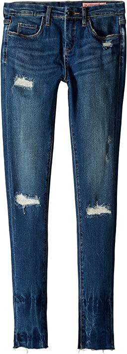 Denim Distressed Skinny in High Dive (Big Kids)