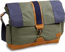 J World New York Sam Canvas Messenger Bag