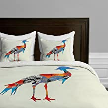 Deny Designs Iveta Abolina Bluebird Duvet Cover, Twin/Twin XL