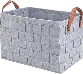 Best large felt storage baskets Reviews