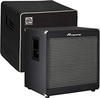 Ampeg Portaflex PF115LF Bass Cab 400W RMS and Cab Cover Bundle