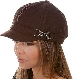 Jessica Unisex Wool Newsboy Cabbie Hat
