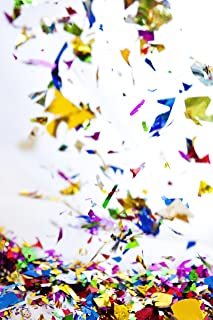 Metallic Shiny Confetti. Sparkly Rainbow Confetti, Bulk Jumbo Bag. Made from shiny, smooth, lightweight shredded foil. For photoshoots, birthdays, engagements, and surprise parties.