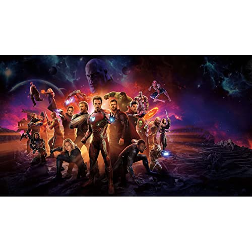 Dark  Four Horsemen of the Apocalypse Silk Fabric Poster 42 X 24 inch