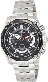 Casio Casual Analog Display Watch For Men Ef-550D-1A, Silver Band