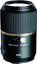Tamron AFF004C700 SP 90MM F/2.8 DI MACRO 1:1 VC Macro Lens for Canon EF Cameras