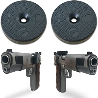 2-Pack | TACTICON HALO Gun Magnet 25 lb Rated | Adhesive Magnets | Car Holster | Bedside..