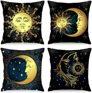 bedroom throw pillow housewarming gift ideas sun and moon pillow throw pillow set cute home decor cute throw pillow accent pillow