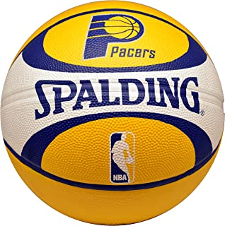 Spalding NBA Indiana Pacers Team Colors And Logo Basketball