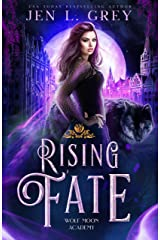 Rising Fate (Wolf Moon Academy Book 3) (English Edition) Format Kindle