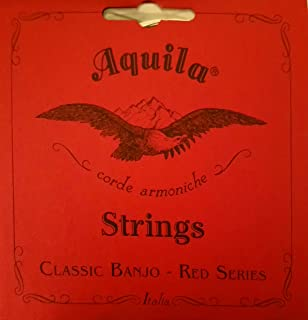 Aquila 11B Red Series Nylgut 5 String Banjo String Set with Wound 4th String
