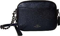 Metallic Leather Camera Bag