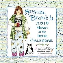 2018 Susan Branch Heart of the Home Wall Calendar