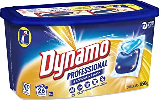 Dynamo Professional Laundry Detergent Capsules, 26 Pack