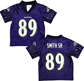 Steve Smith Baltimore Ravens Purple Home Player Jersey Youth