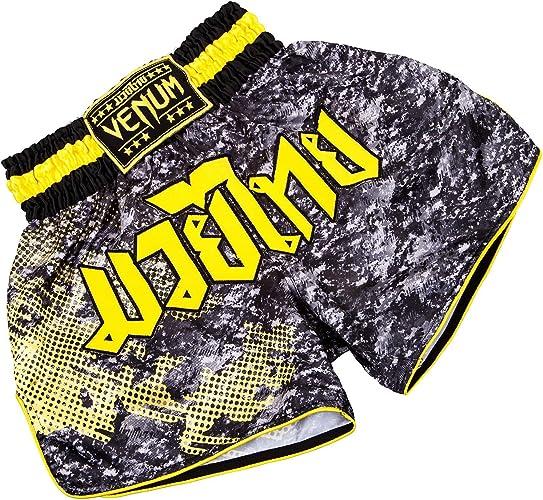 Venum Tramo Muay Thai courtes - noir   jaune