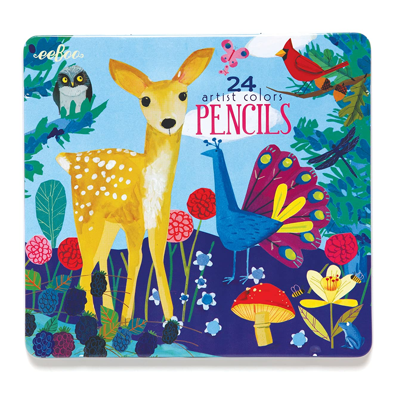 eeBoo, Pencils Life On Earth, 24 Count