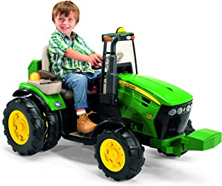 John Deere 12Volt Dual Force Tractor Ride-On Ride On