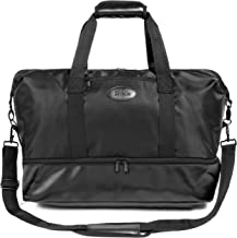 ZORELLE Studio Tote Bag for Women: Elegant and Fashionable Travel Bag for Women, Weekender Bag and Overnight Bag Luggage; Large Gym Bag, Dance Bag and Travel Purse; Shoe Compartment, Large Opening and