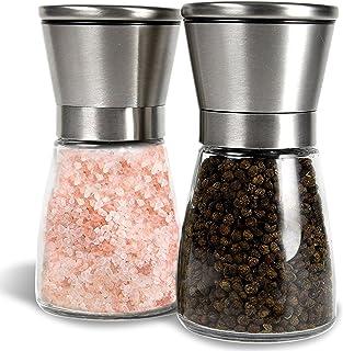 Salt and Pepper Shakers, Salt Mills, Salt and Pepper Grinder Set – – Spice..