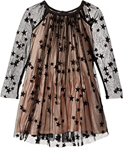 Stella McCartney Kids - Misty Star Embroidered Tulle Dress (Toddler/Little Kids/Big Kids)