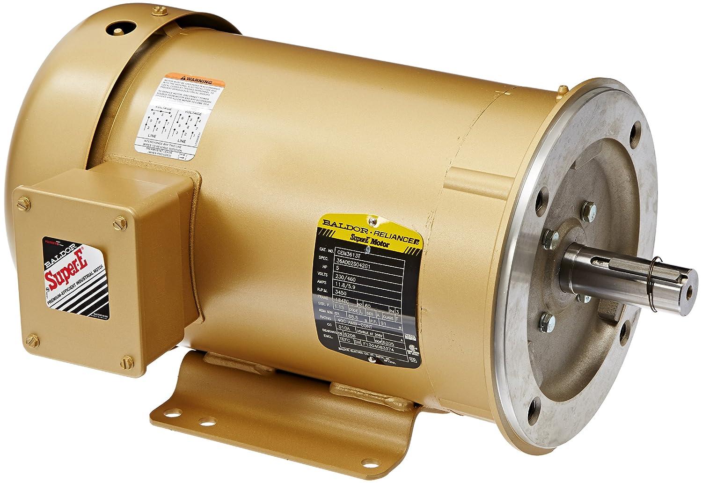 Baldor Max 81% OFF Popular standard CEM3613T General Purpose AC 184TC Motor Frame 3 Phase