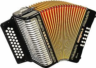Hohner 3523GB 15.5-Inch 43-Key Accordion