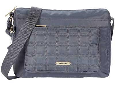 Hedgren Isabella Eco-Friendly Crossbody (Iron Gate) Bags