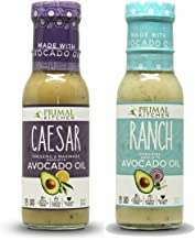 Primal Kitchen - Caesar and Ranch, Avocado Oil-Based Dressing, Whole30 and Paleo Approved, 2 Count