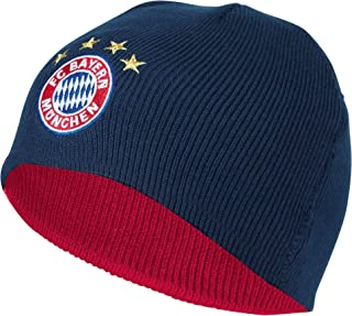 FC Bayern Bonnet en tricot bonnet Bandes 20393