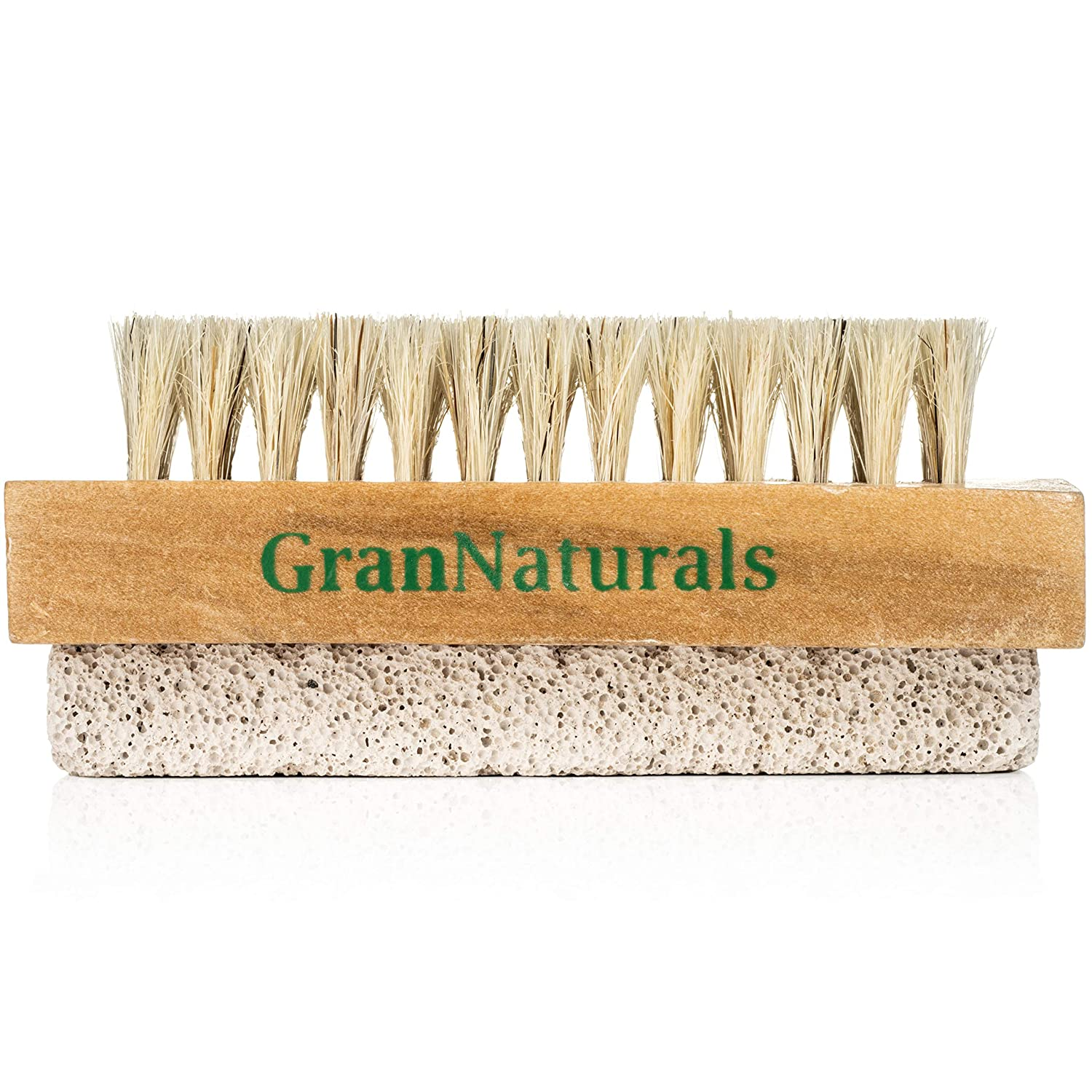 Hand Foot Brush with Pumice Stone Natural - Dry Cheap SALE Ranking TOP12 Start Body Bristle E