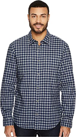Heather Check Button Down Shirt